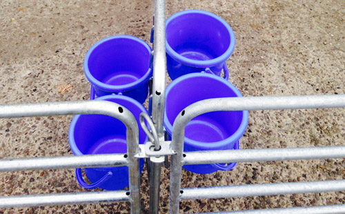 Buckets and holders